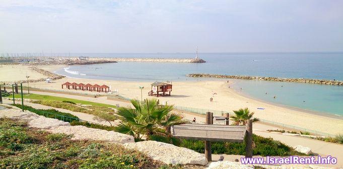 Квартиры в аренду на берегу моря в Израиле